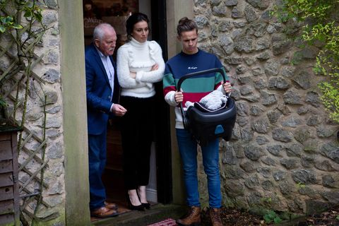 Jacob Gallagher's Christmas Day baby shock in Emmerdale