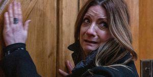 Harriet Finch gets locked in the church in Emmerdale
