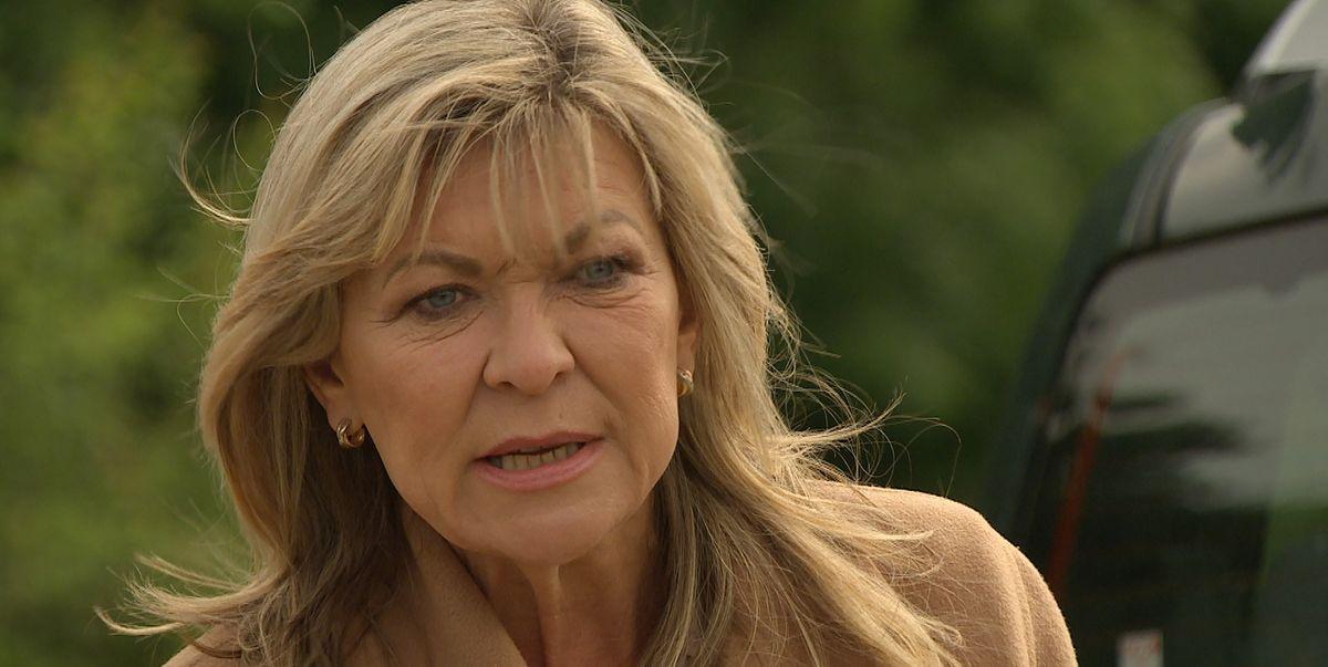 Emmerdale's Kim doubts Jamie's death in latest scenes