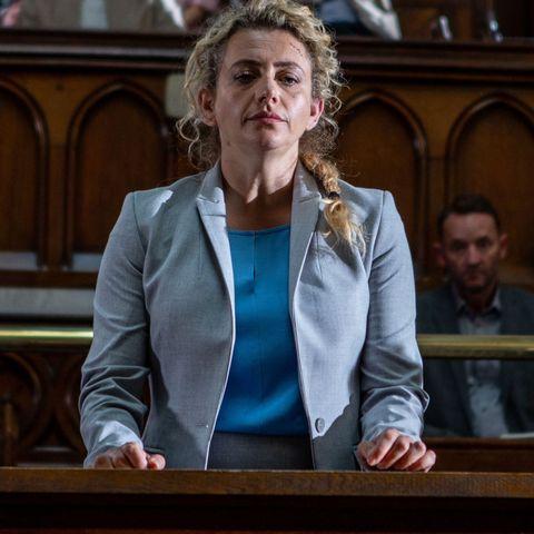 maya stepney in court in emmerdale