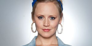 Amy Walsh as Tracy in Emmerdale