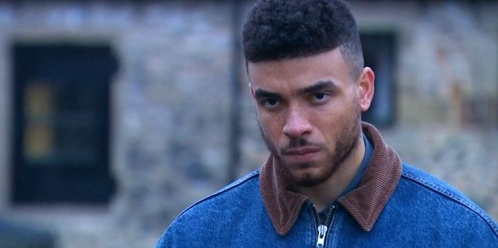 Emmerdale's Nate Robinson is questioned by police after being shot by Cain Dingle