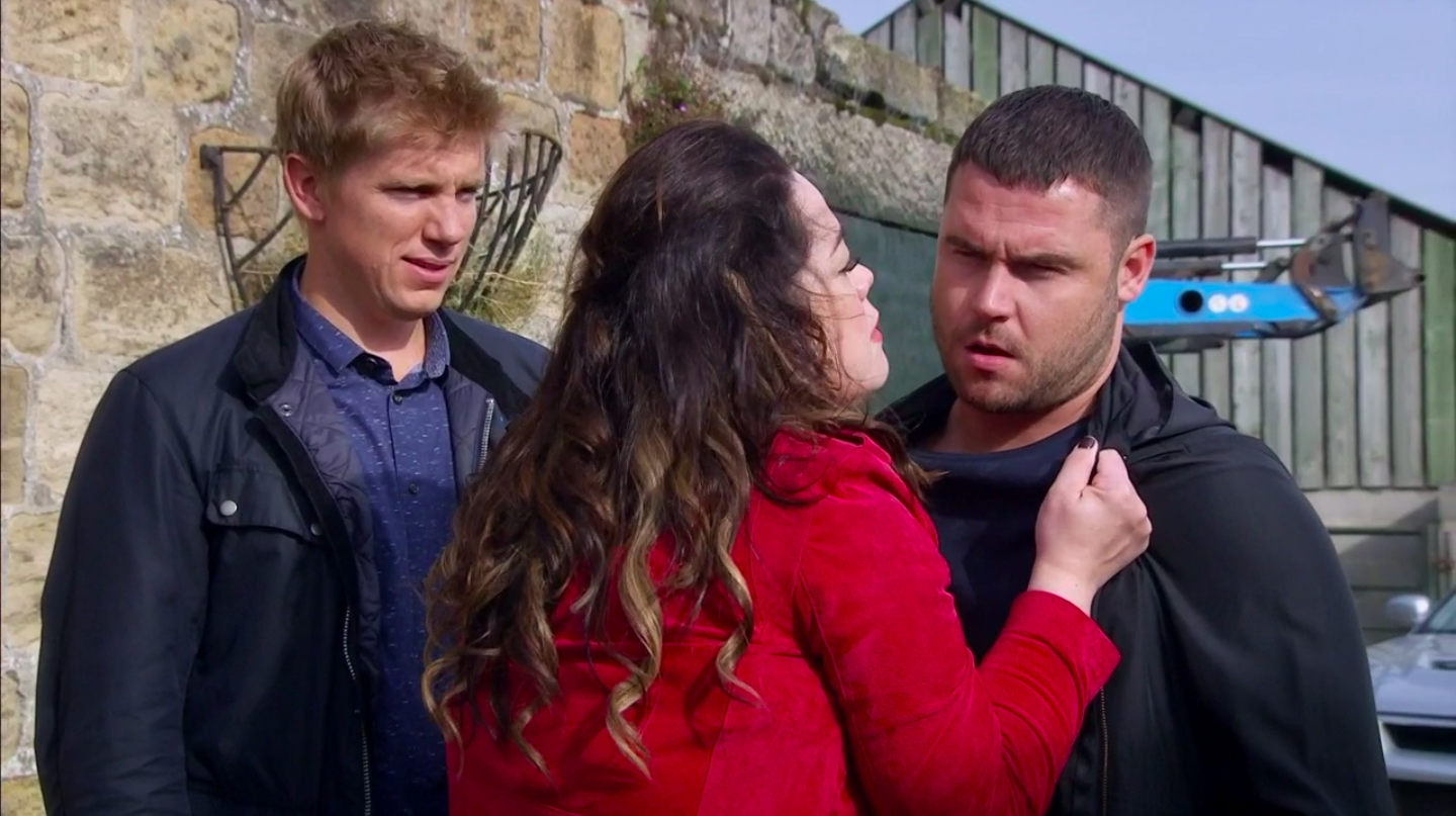 Emmerdale's Mandy Dingle vows revenge as Aaron takes all her money for himself and Robert Sugden