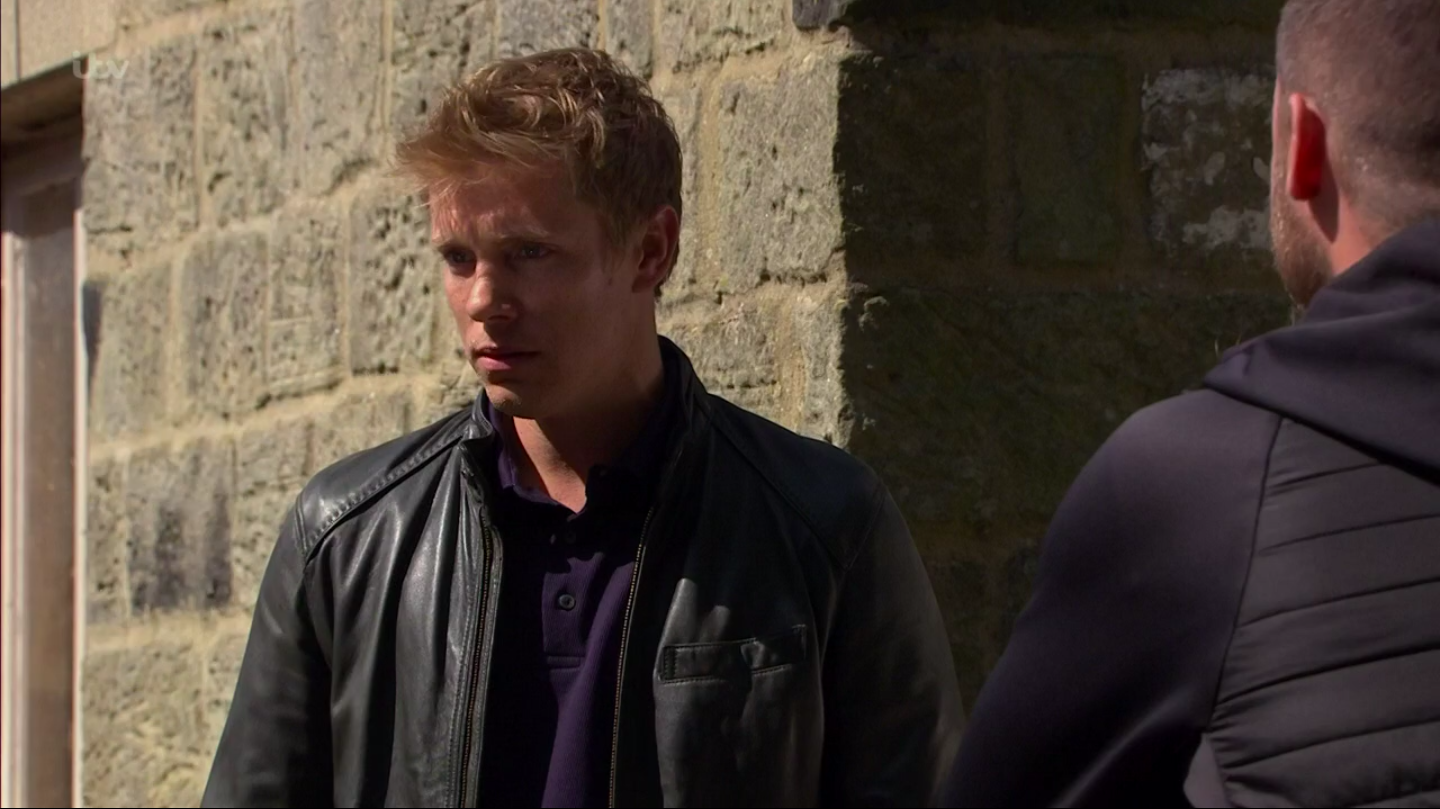 Emmerdale's Robert Sugden makes a huge sacrifice for Aaron Dingle after their hideaway is discovered