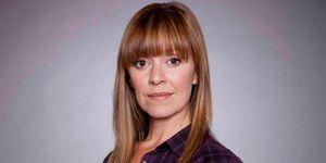 Zoe Henry as Rhona Goskirk in Emmerdale