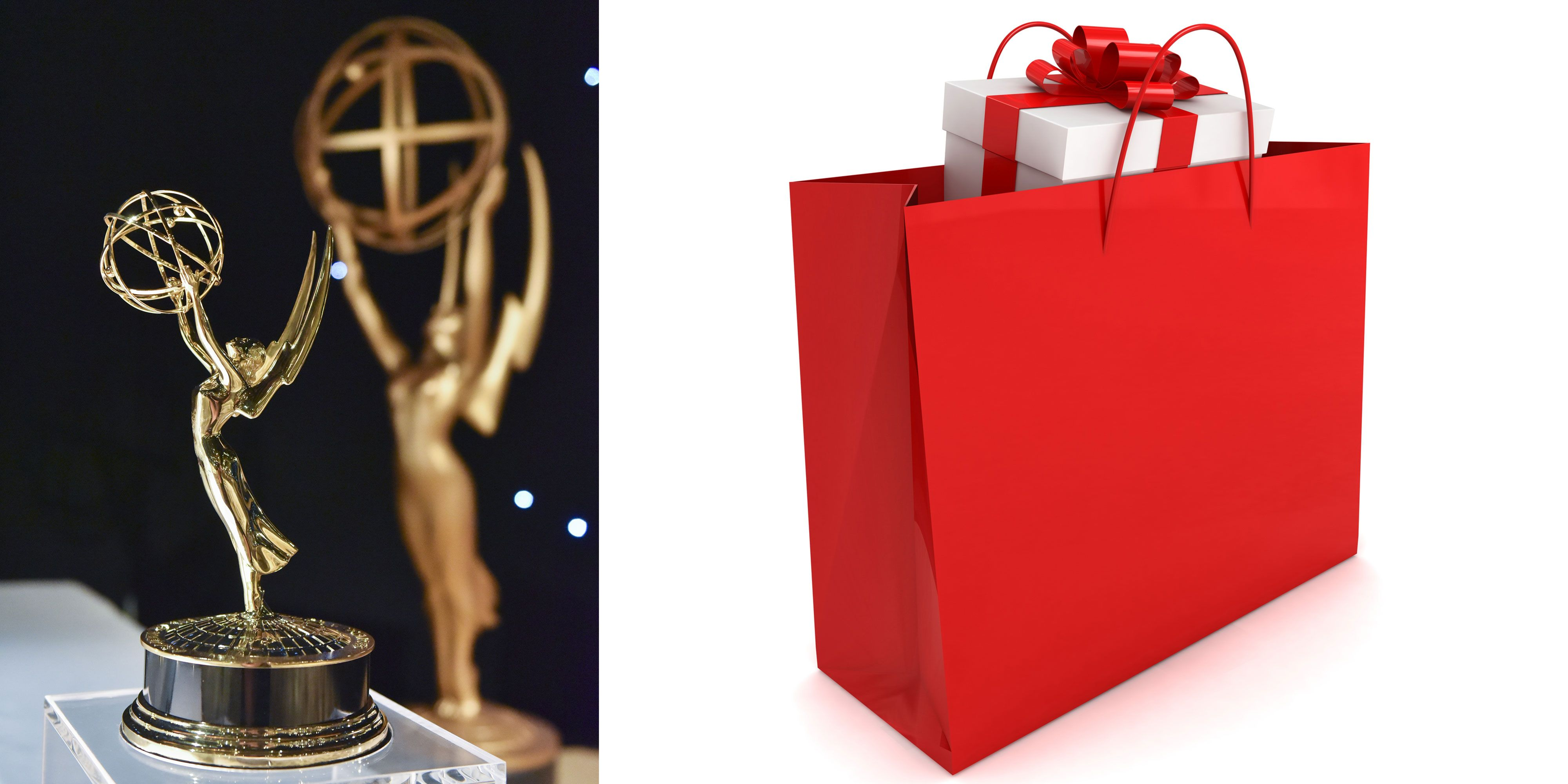 Emmys 2017 gift bag see the luxury items inside the emmys gift bag negle Choice Image