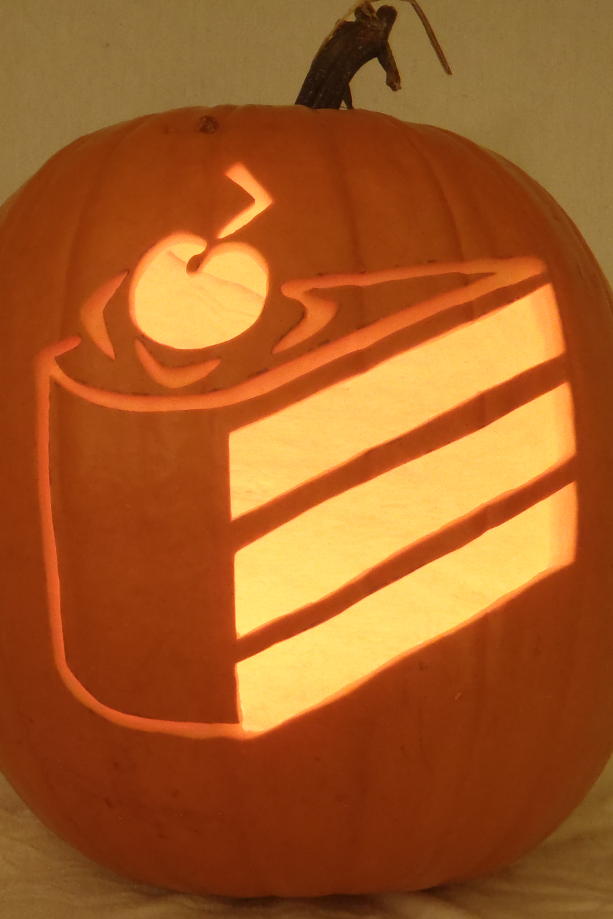 cake emoji pumpkin carving