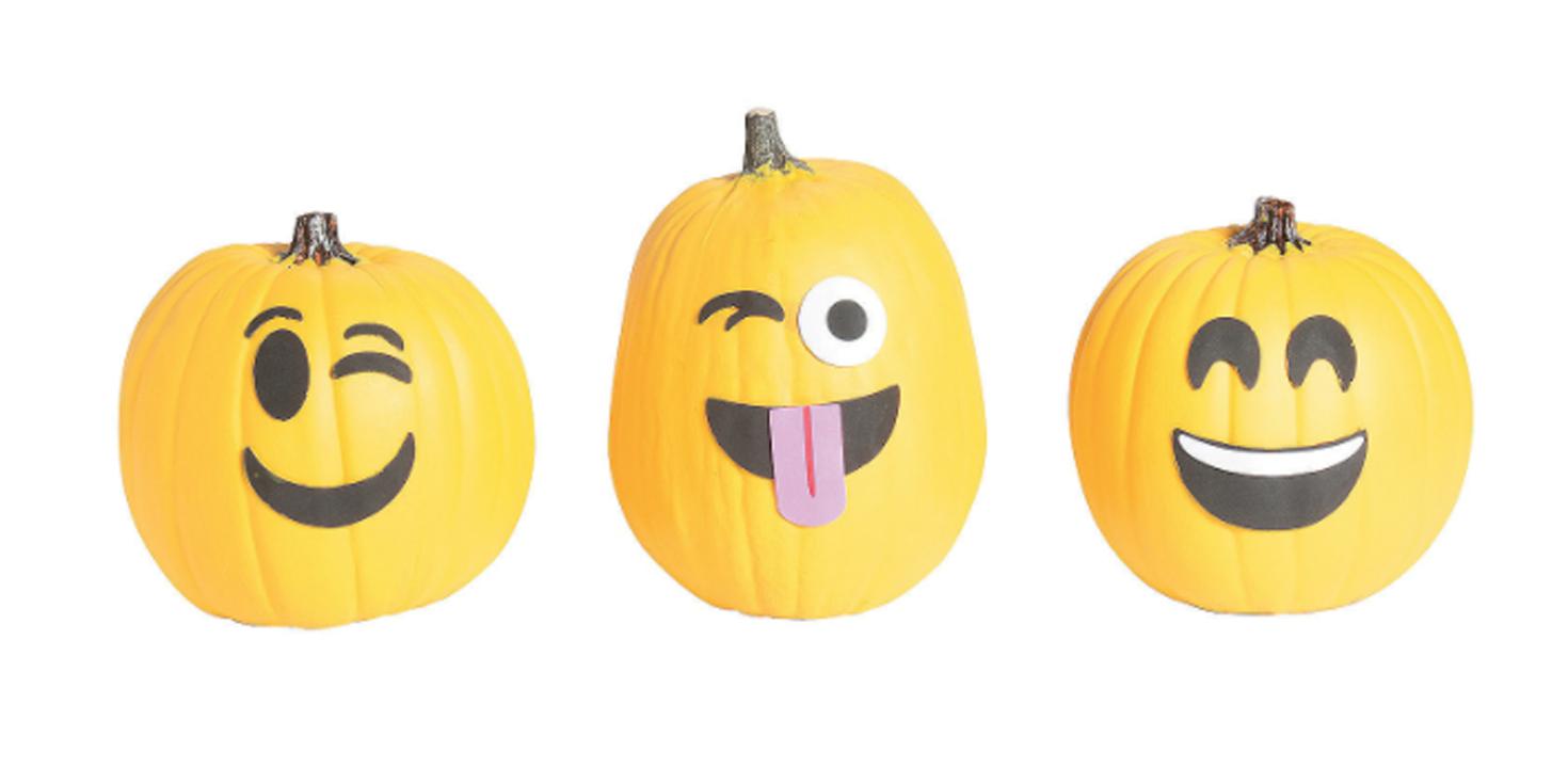 emoji pumpkin carving kit
