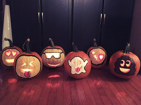 Jack-o'-lantern, Calabaza, Pumpkin, trick-or-treat, Orange, Fruit, Plant, Vegetable, Food, Night,