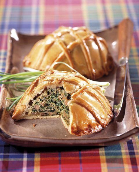 Empanada de carne y espinacas