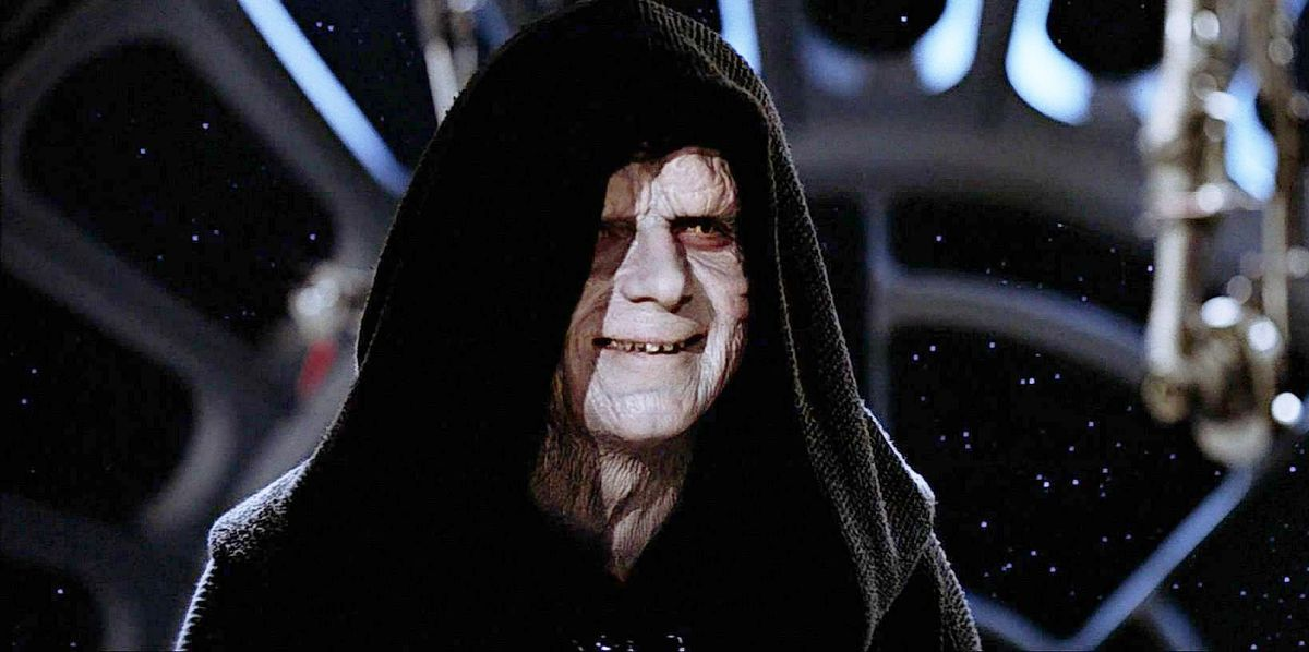 Star Wars explains that Palpatine destroyed his secret bases to remain hidden