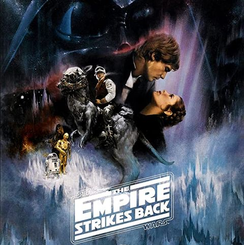 empire strikes back movie poster