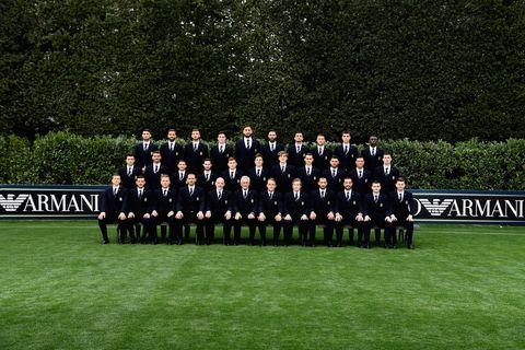 Team, Uniform, Event, Grass, Military organization, Lawn, Official, Organization, Military rank, Crew,