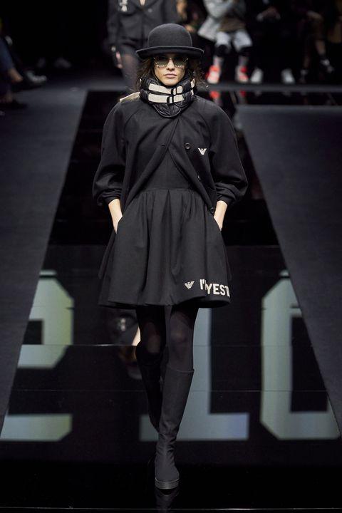 Runway, Fashion, Fashion model, Fashion show, Clothing, Fashion design, Outerwear, Human, Public event, Model,