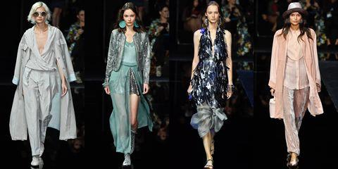 Fashion model, Fashion, Runway, Clothing, Fashion show, Fashion design, Event, Dress, Public event, Outerwear,