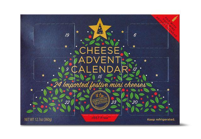 aldi cheese advent calendar 2020