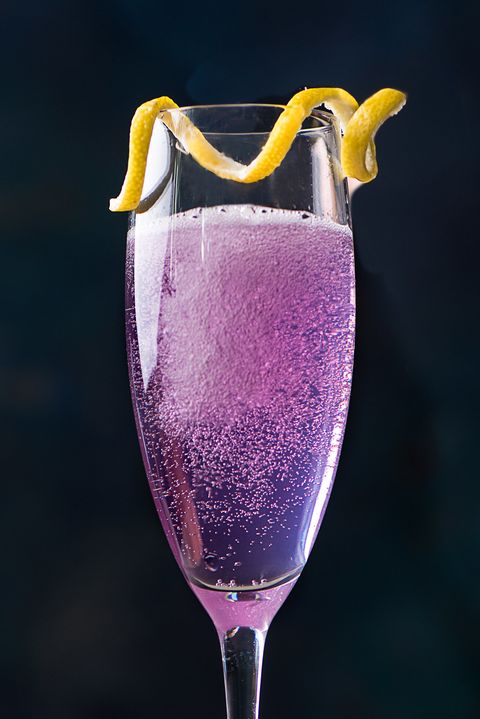 Champagne cocktail, Drink, Champagne stemware, Alcoholic beverage, Wine cocktail, Stemware, Non-alcoholic beverage, Glass, Wine, Fizz,
