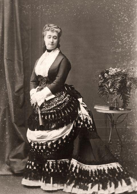 尤金尼皇后的黑白照