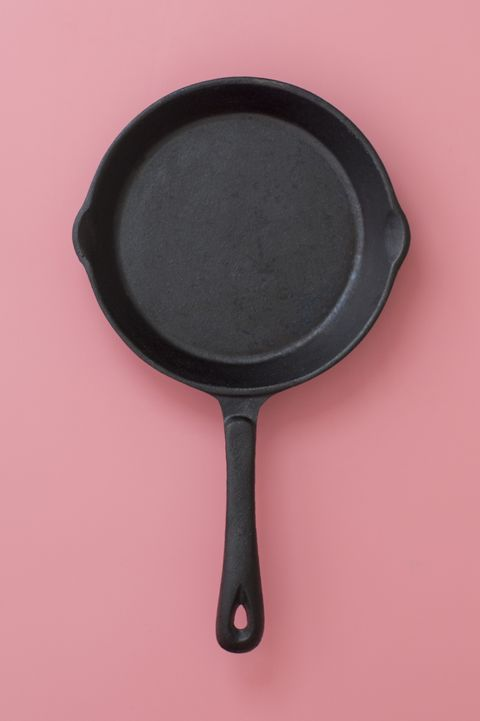 empty frying pan