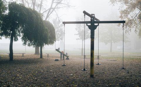 spooky urban legends   empty playground