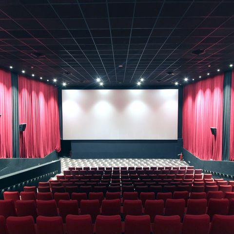 Empty Screening Theater