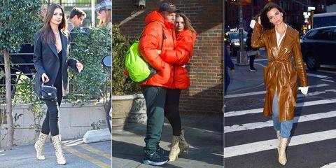 Clothing, Street fashion, Orange, Footwear, Jeans, Fashion, Jacket, Outerwear, Snapshot, Shoe,