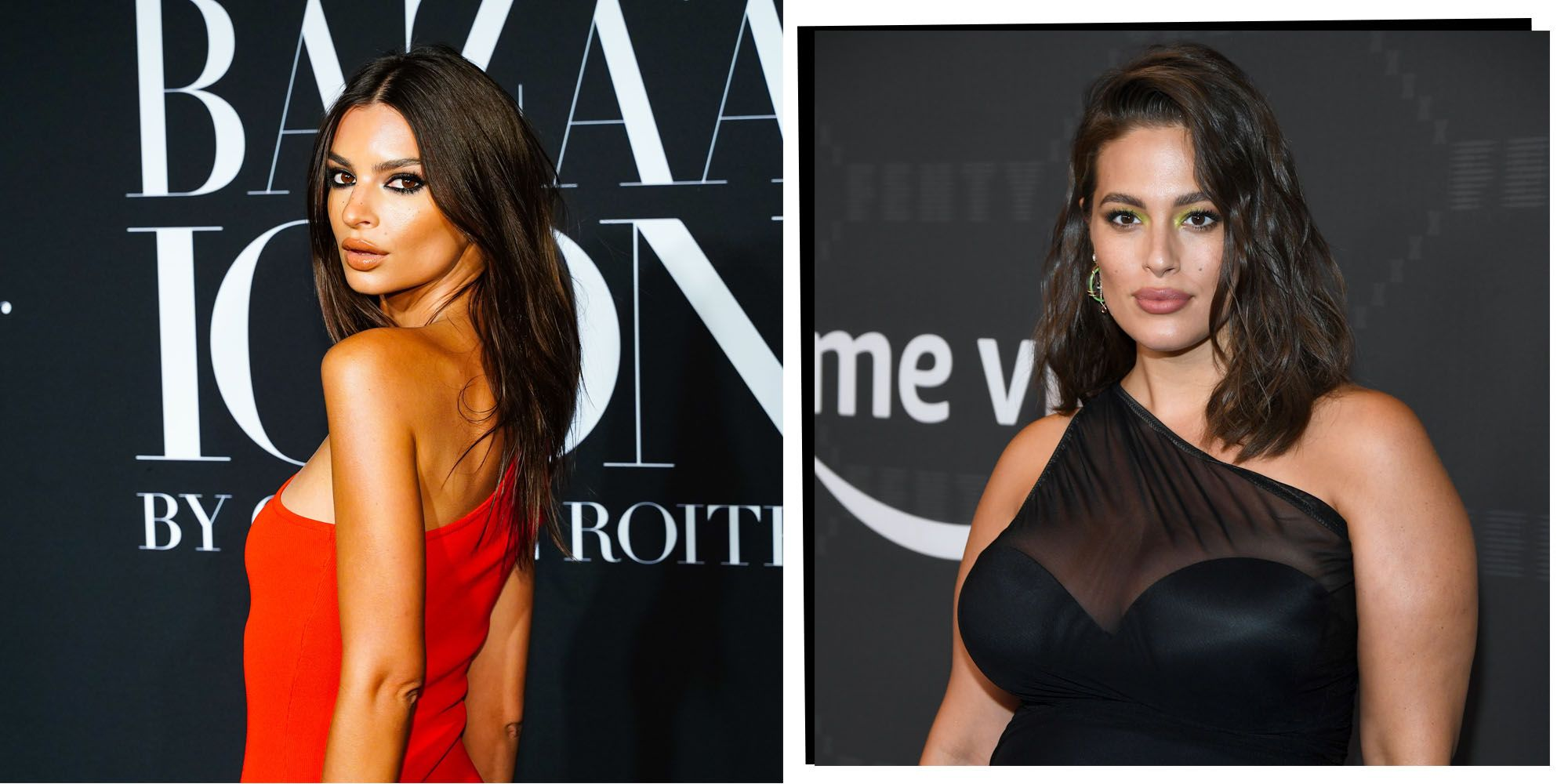 Emily Ratajkowski And Ashley Graham Coordinate In Autumnal Hues For Adorable Catch Up