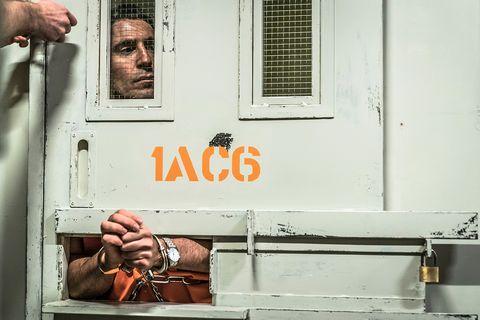 Así luce Miguel Angel Silvestre 'En el corredor de la muerte'