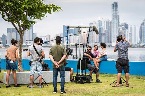 El rodaje de 'En el corredor de la muerte' en Panamá
