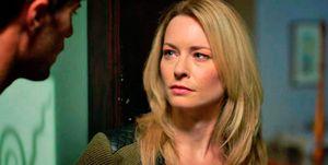 Jessica Morris en una escena de 'En manos de un desconocido'