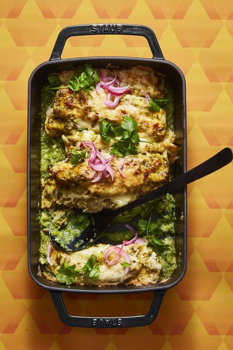Enchiladas Verdes - Easy Mexican Recipes