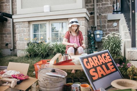 end of summer Garage sale