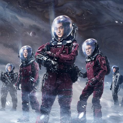 End of the World Movies - The Wandering Earth