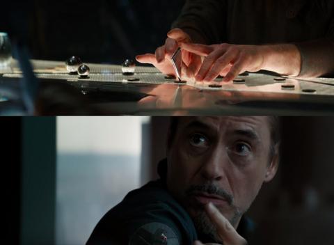 Avengers Endgame fan spots fun Tony Stark Easter egg