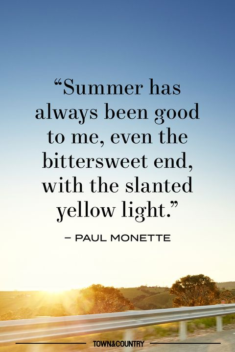 end of summer quote