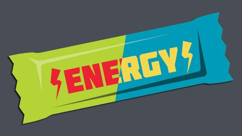 energy bar illustration