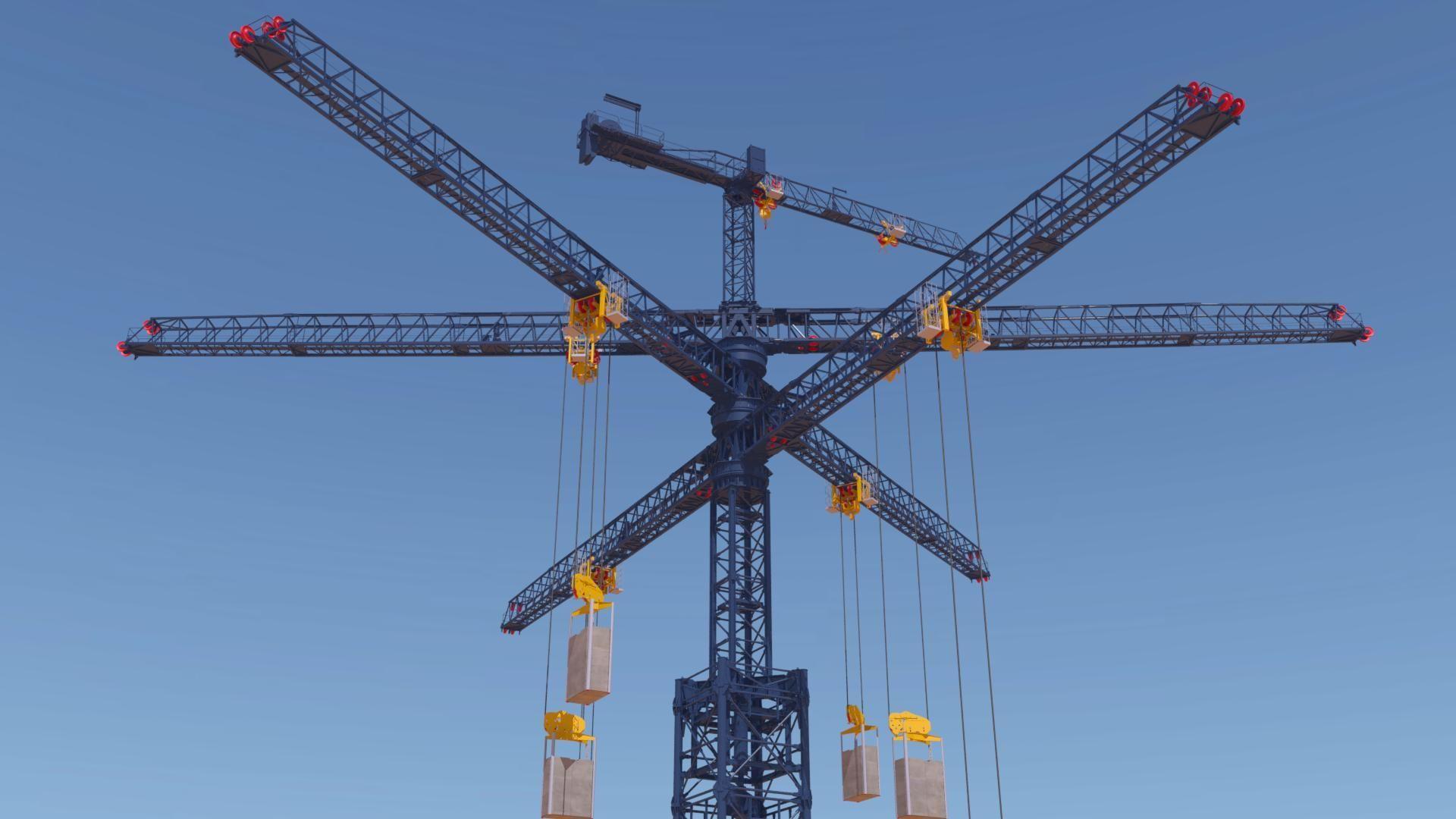 energy vault cranes