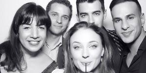 Sophie Turner Joe Jonas engagement party