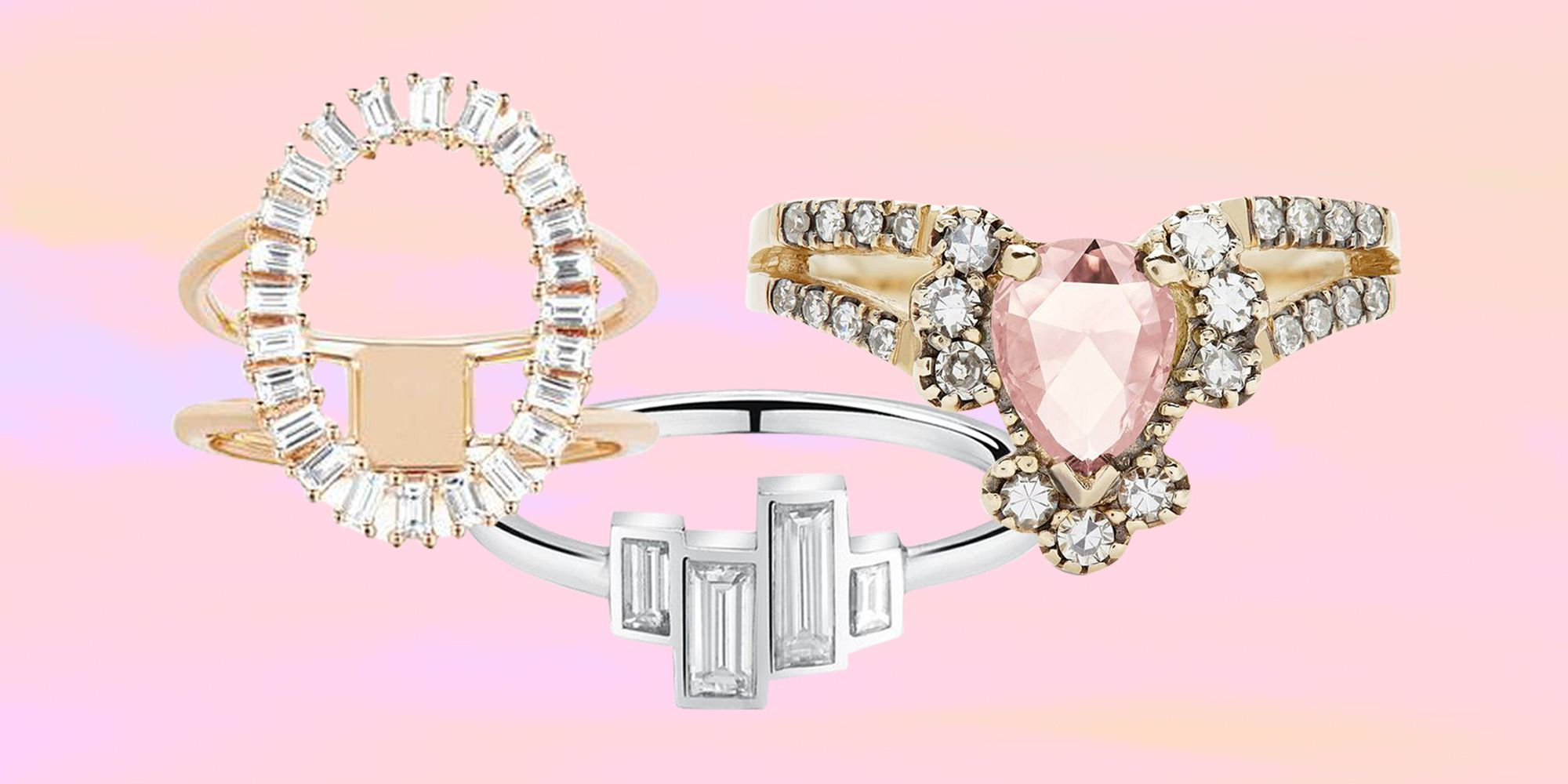 22 Unique Engagement Rings - Best Non-Traditional Engagement Rings