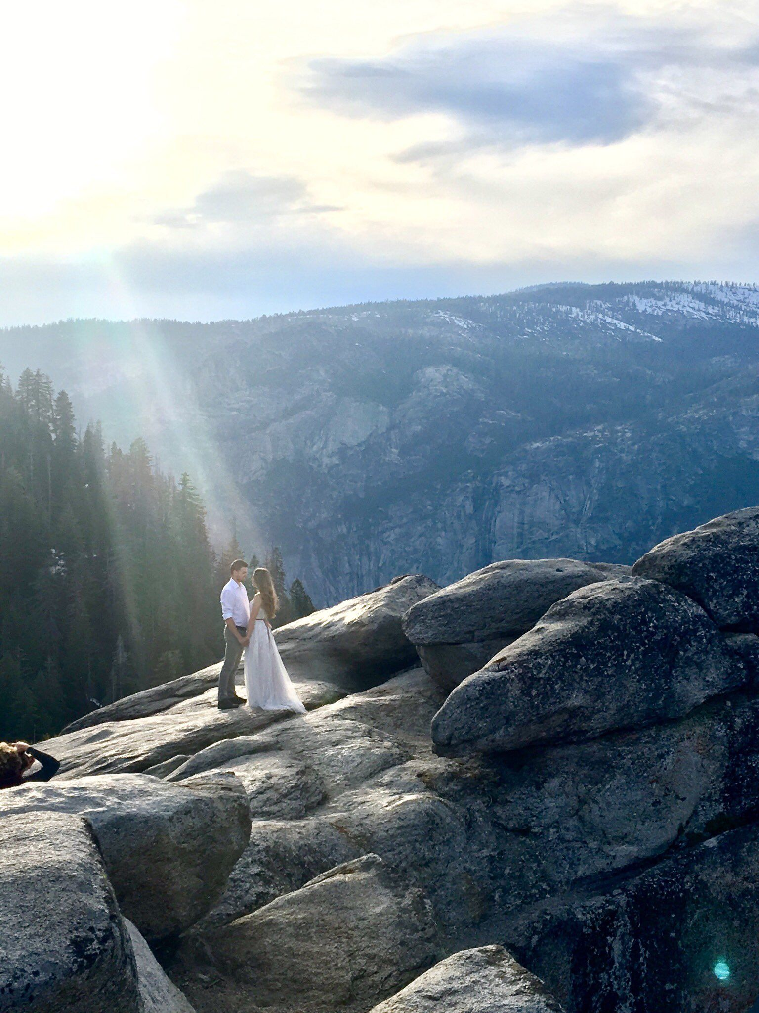 Please Help the Internet Find the Couple in This Magical Engagement Photo