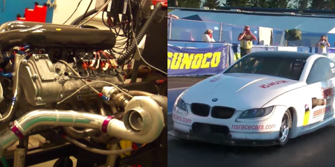 Someone Made a BMW V10 1850-HP Drag Racing Engine