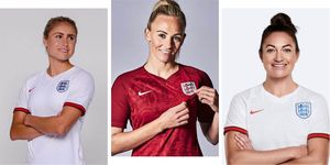 These are all the women in the England Women's World Cup football team