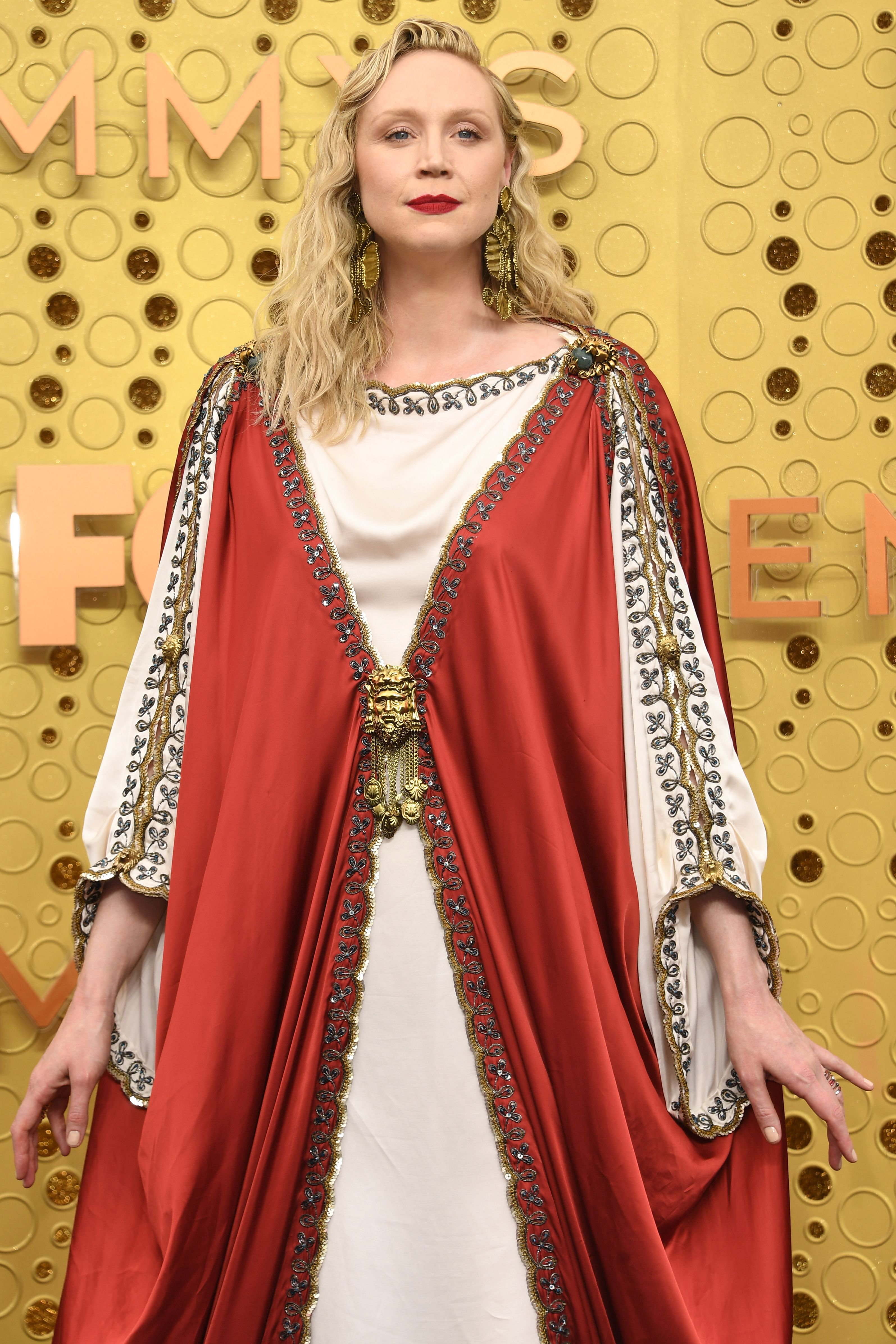 Holy Sh*t, Gwendoline Christie Is Serving All Kinds of Pope Realness at the Emmys