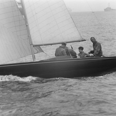prince philip sailing at cowes