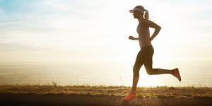 mejor, remedio, depresión, postvacacional, running
