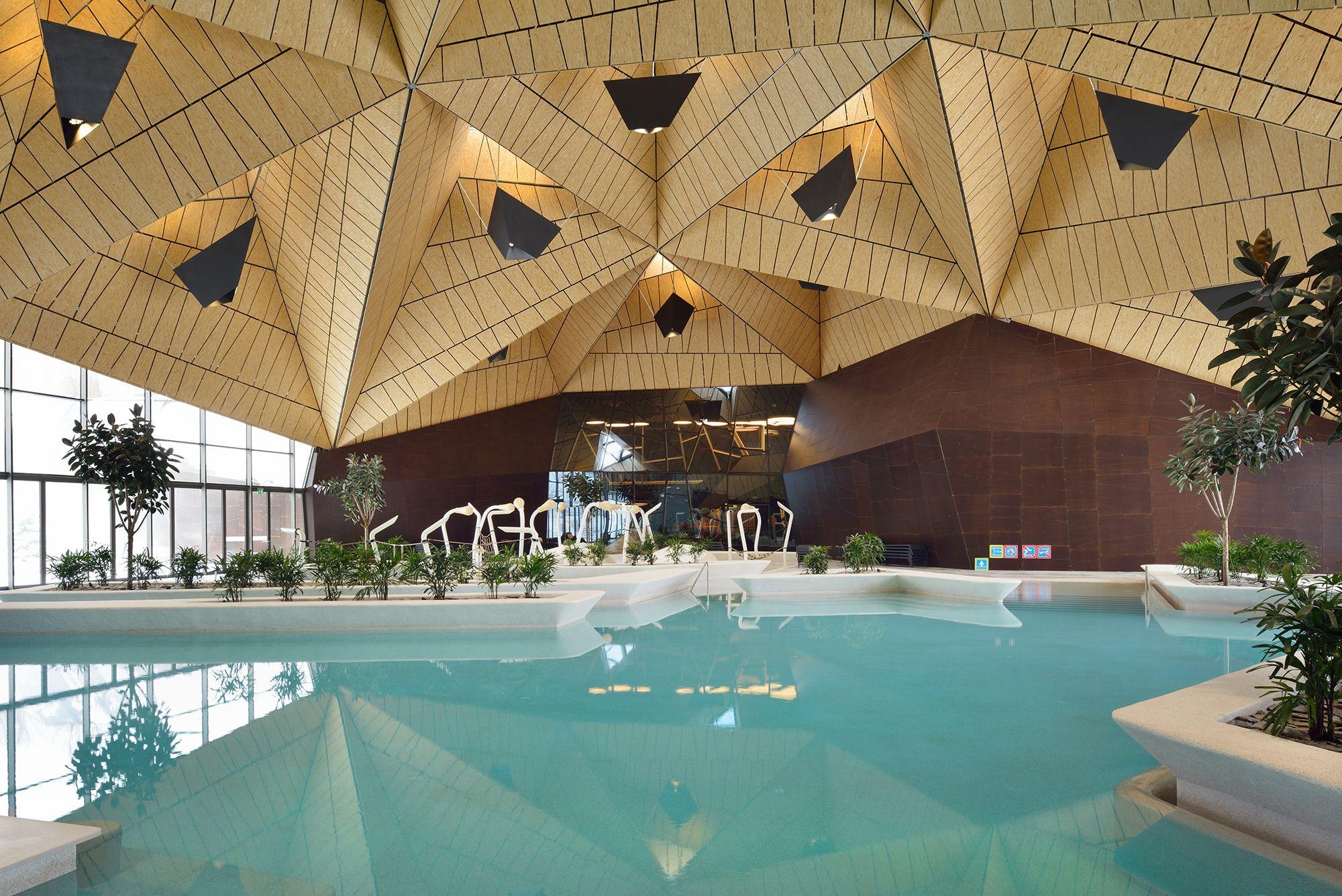 Paesaggi D Acqua Piscine la sbalorditiva piscina del centro termale in slovenia
