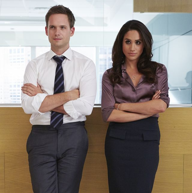 see meghan markle on the set of suits in these sweet photos shared by patrick adams see meghan markle on the set of suits