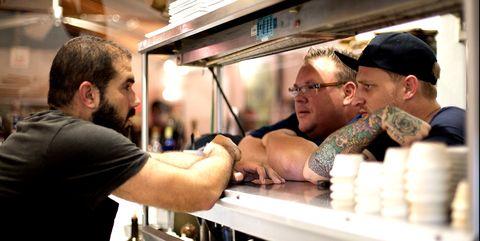 Muscle, Street food, Food, Food truck, Truck,