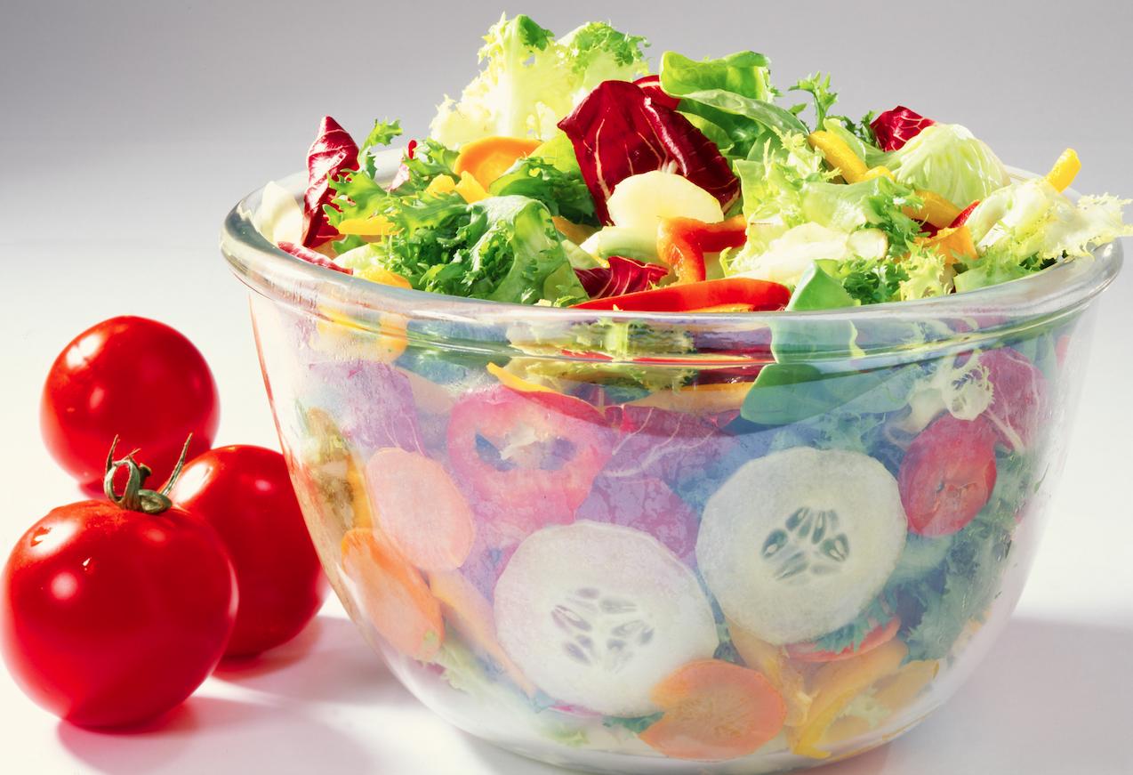 Las ensaladas no te ayudará a perder peso... mejor cómete un sandwich