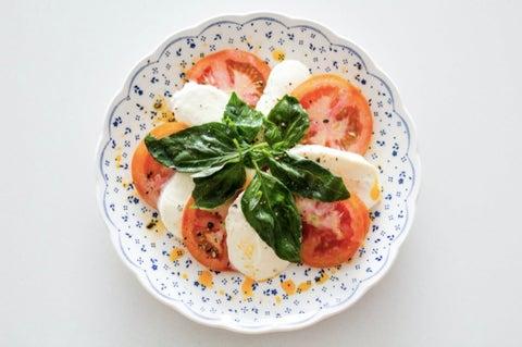 recetas frías para verano ensalada caprese
